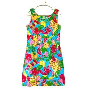 Lilly Pulitzer Tutti Frutti fruit print dress
